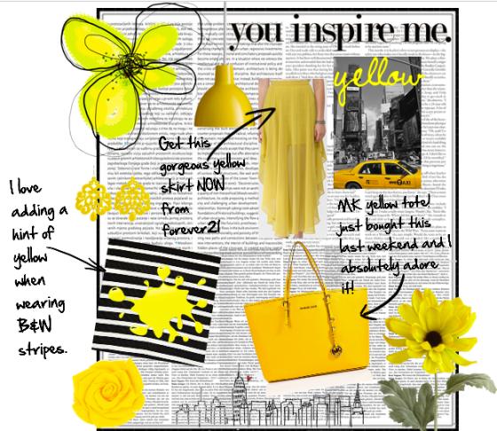 fanatic about yellow.