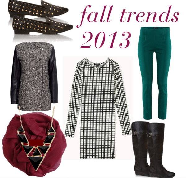 fall/autumn trends.