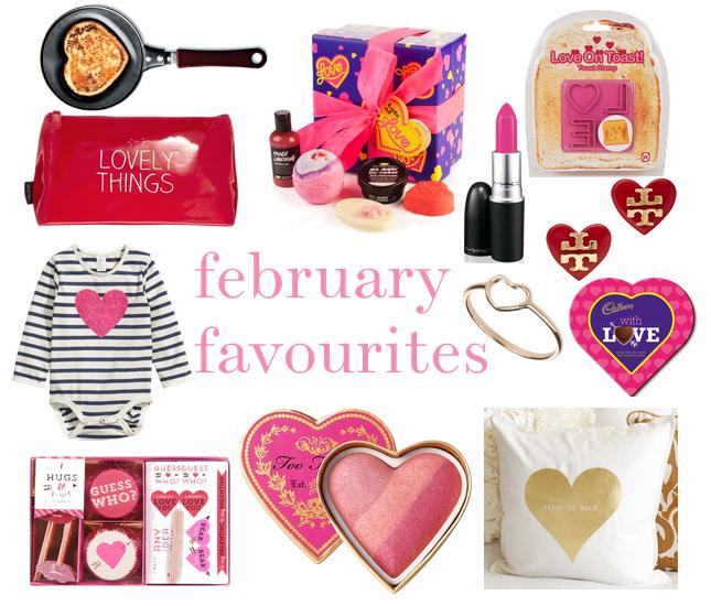 february favourites.
